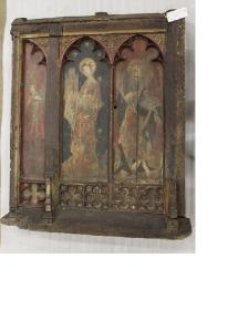 15th Century Screen Fragment from St Gregory's Church, Norwich