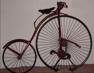 1884 kangaroo bicycle