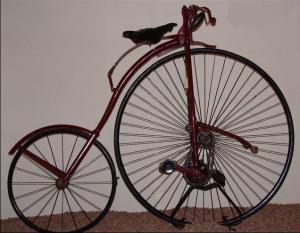 1884 kangaroo bicycle