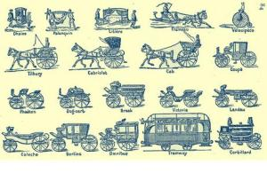 19th century carriage types