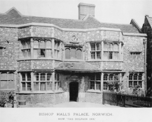 The Luftwaffe failed to destroy either the Castle or Cathedral, but the one great architectural loss was Bishops Hall Palace on Heigham Street that had been converted into the Dolphin Inn, but was totally destroyed on the second night's raid.
