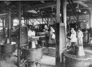 Caley's factory during the 1920's. Picture Norfolk - http://norlink.norfolk.gov.uk/02_Catalogue/02_001_Search.aspx?searchType=97