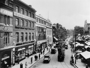 Gentlemans Walk and Market Place, between 1930-1949