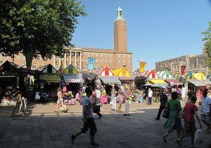 Gentlemans Walk and Market Place, 2013
