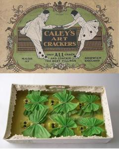 NWHCM : 2008.170 - Box and contents of 'Caley's Art Crackers.'