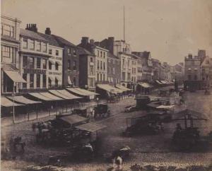 Gentlemans Walk & market Place 1854