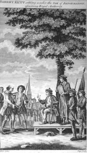 The Oak of Reformation - Under this tree Kett & his advisers met to discuss plans and issue orders.