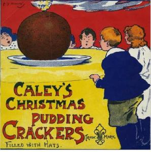 NWHCM : 1961.429.48 - 'Caley's Christmas Pudding Crackers.'
