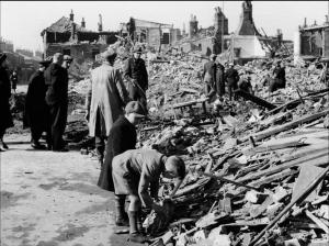 Rupert Street, Norwich. At the time of these raids my Grandmother, not quite 1 year old was living just a few streets away from this devastation on Portland Street!