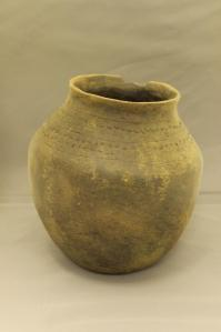 One of our 'Star' objects - A Saxon Pot, excavated from Spong Hill, North Elmham, Norfolk.