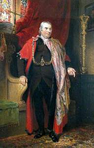 Barnabas Leman, painted in 1819 by Joseph Clover.