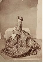 Female fashion pre 1850 was very restrictive