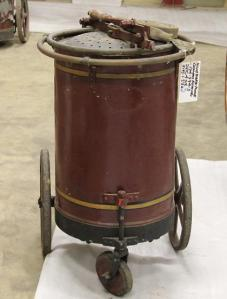 Fire Extinguisher used at Carrow Works in the 19th century.