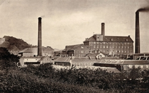 Carrow Works in the 19th century