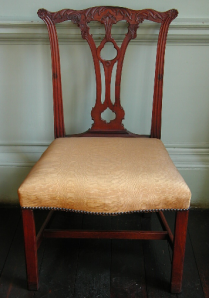 Mahogany Chippendale chair