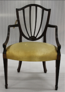 Hepplewhite chair