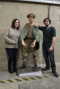Surprise number one being Eggbert the Anglo Saxon man sent to The Norfolk Collections Centre for conservation freezing