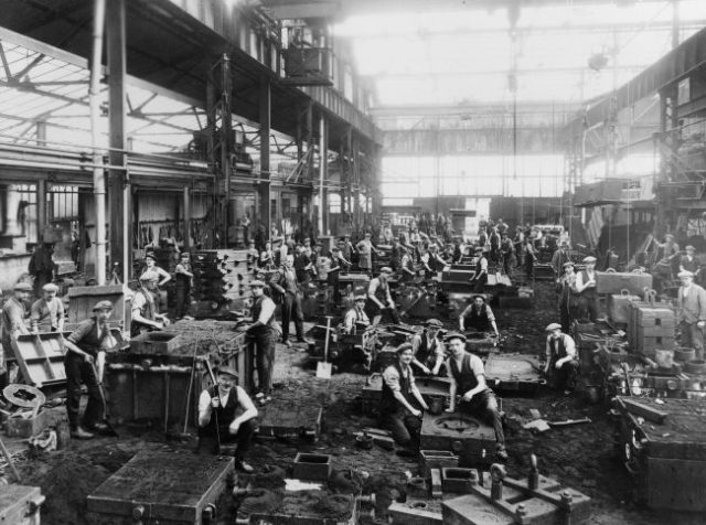 Laurence & Scott, foundry, Gothic works, 1920s