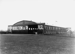 B+P hangar